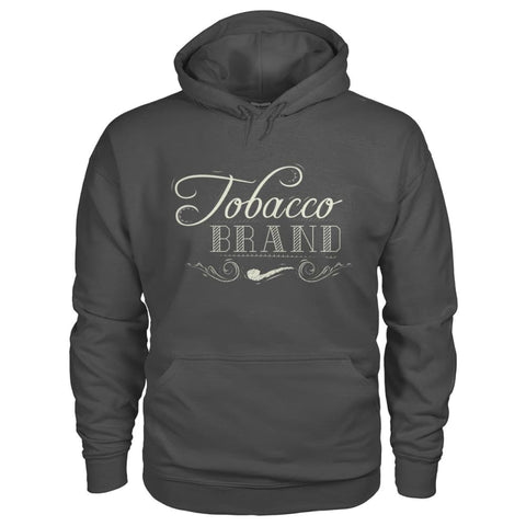 Image of Tobacco Brand Hoodie - Charcoal / S - Hoodies
