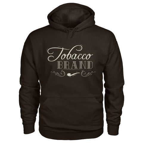 Image of Tobacco Brand Hoodie - Dark Chocolate / S - Hoodies