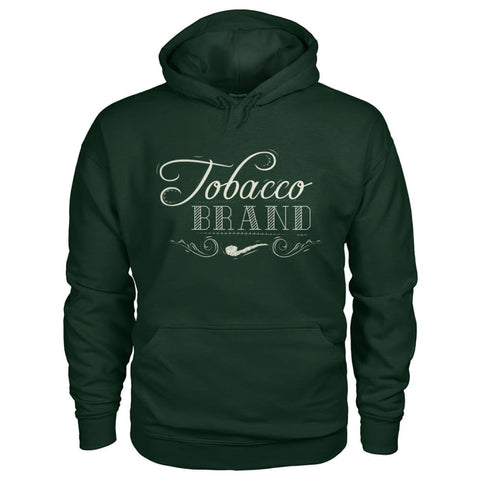 Tobacco Brand Hoodie - Forest Green / S - Hoodies