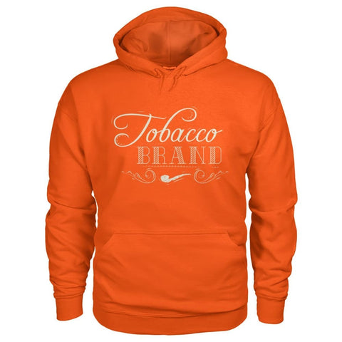 Image of Tobacco Brand Hoodie - Orange / S - Hoodies