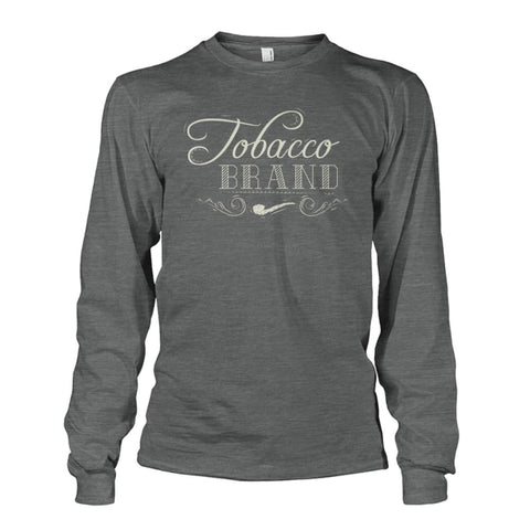Tobacco Brand Long Sleeve - Dark Heather / S - Long Sleeves