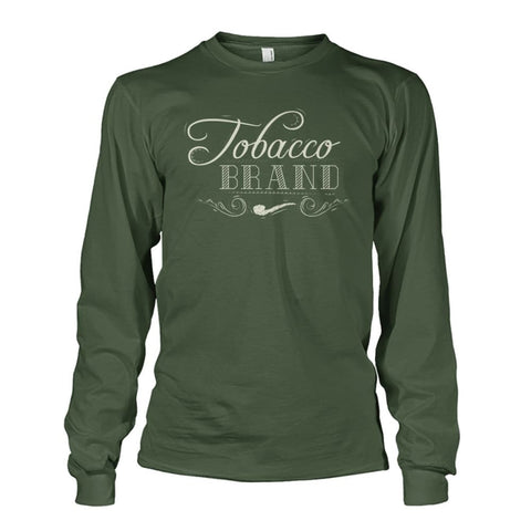 Tobacco Brand Long Sleeve - Military Green / S - Long Sleeves
