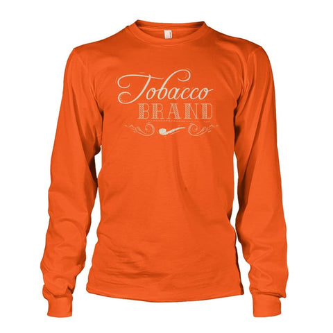 Tobacco Brand Long Sleeve - Orange / S - Long Sleeves