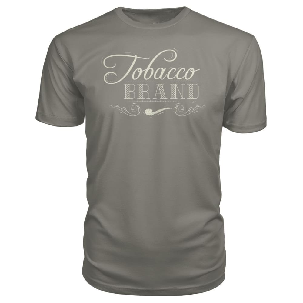 Tobacco Brand Premium Tee - Charcoal / S - Short Sleeves