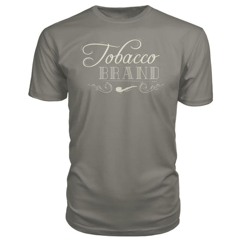 Image of Tobacco Brand Premium Tee - Charcoal / S - Short Sleeves