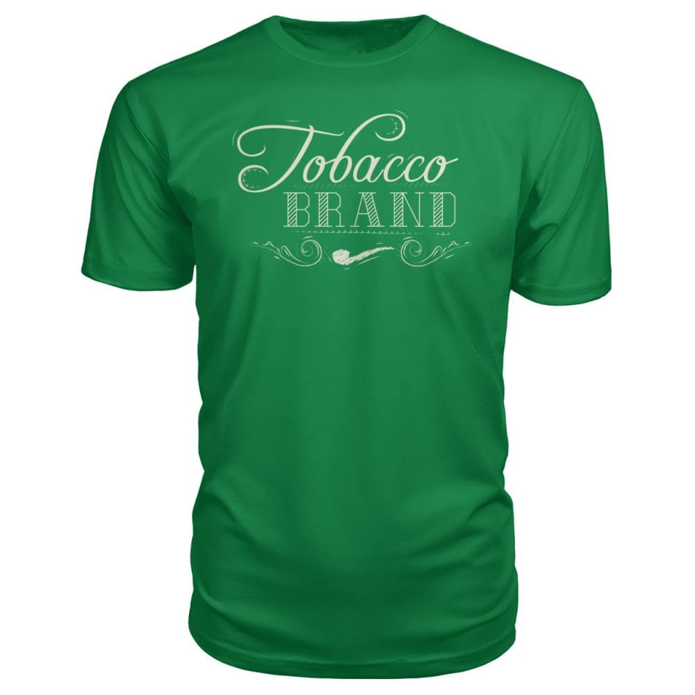 Tobacco Brand Premium Tee - Kelly Green / S - Short Sleeves