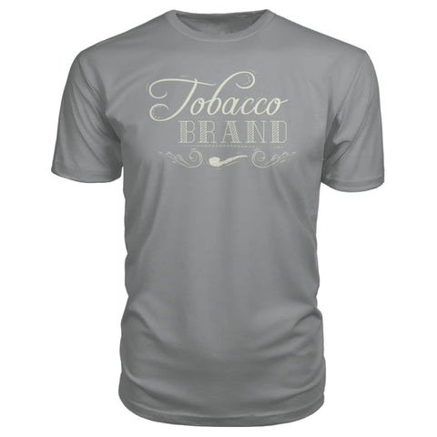 Image of Tobacco Brand Premium Tee - Storm Grey / S - Short Sleeves