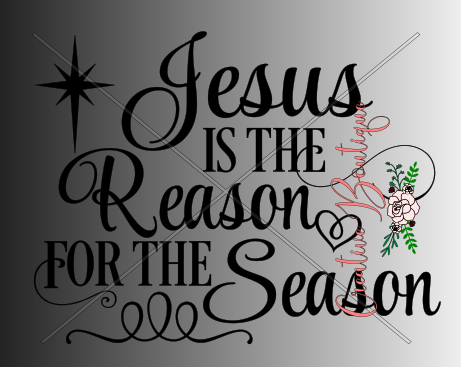 Christmas and Winter - Jesus is the Reason for the Season