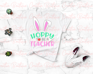 Hoppy to be a Teacher