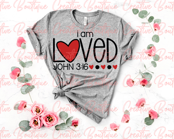 I am Loved - John 3:16