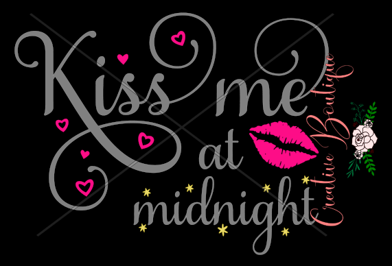 New Years Eve - Kiss me at midnight