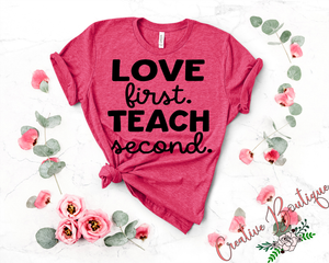 Love First Teach Second