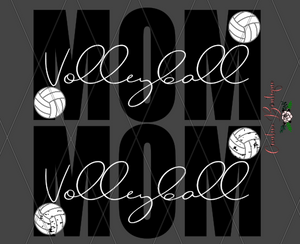 Mom Volleyball