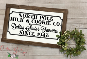 North Pole Milk & Cookie Co