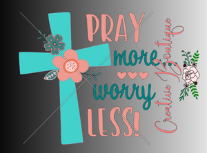 Religious Pray More Worry Less