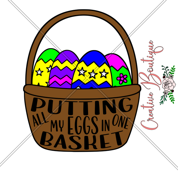 Easter and Spring - Putting all my eggs in one basket