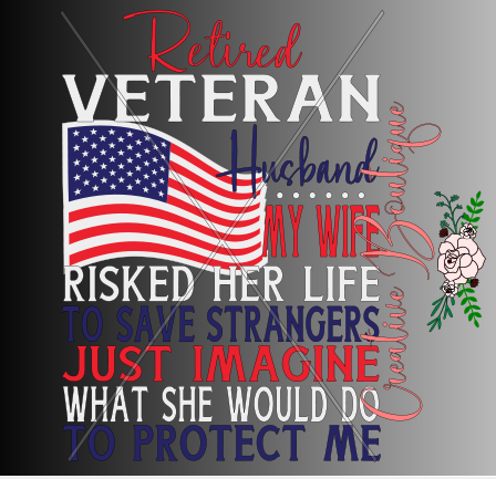 Retired Veteran Husband