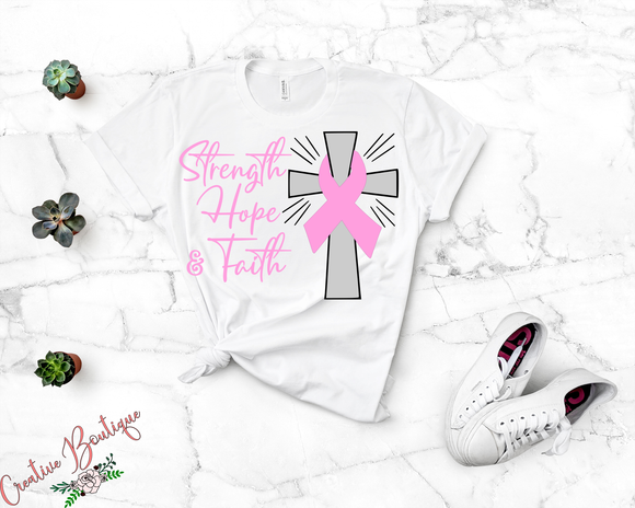 Strength Hope Faith - Awareness