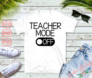 Teacher Mode Off