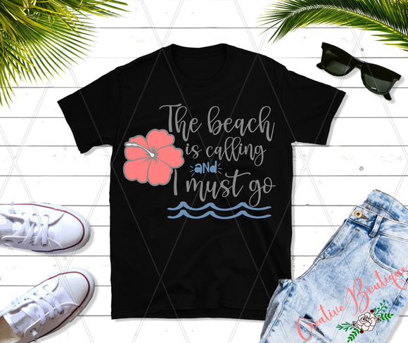 The Beach is Calling - flower