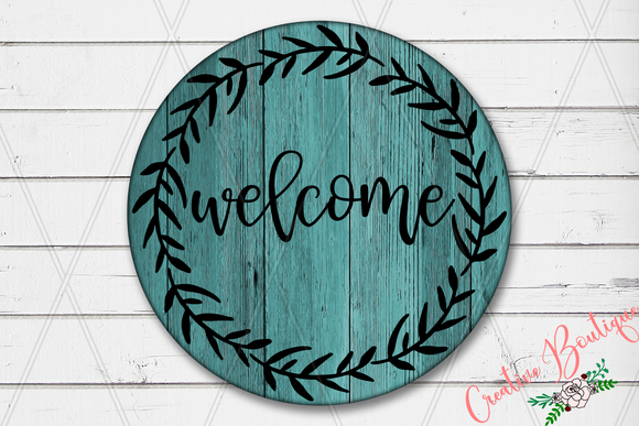 Welcome - Wreath