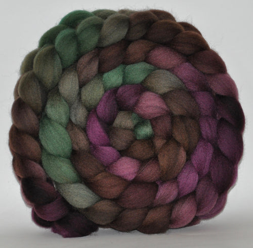 Shetland Hand Dyed Roving - 5.36 ounce - The Thinker Multi Gradient Combed Top