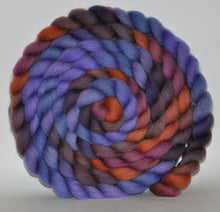 Haunui New Zealand Halfbred Wool  Roving Hand Dyed  5.34 ounces - Special Occasion Combed Top