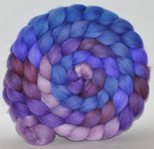 85/15 Polwarth/Tussah Silk  Hand Dyed Roving - 4.93 ounce -  Prunella Gee  Combed Top