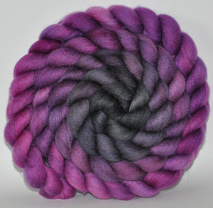 23.6 Micron Haunui New Zealand Halfbred/ A1+ Mulberry Silk 75/25 Blend -  5.46 oz  Hannah  Combed Top