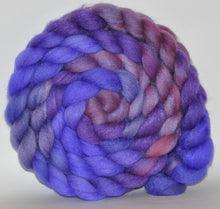 85/15 Polwarth/Tussah Silk  Hand Dyed Roving - 4.9 ounce -  Valerie Leon   Combed Top