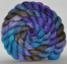 85/15 Polwarth/Tussah Silk  Hand Dyed Roving - 4.9 ounce -  Joanna Pettet  Combed Top