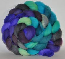 Targhee Hand Dyed Roving - 5.3 ounce - Twice Upon a Time Combed Top  - ooak