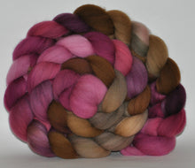 Targhee Hand Dyed Roving - 5.03 ounce - The Doctor Donna Combed Top  - ooak