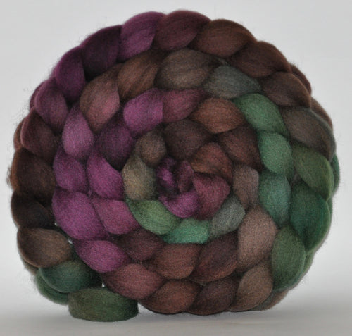 Shetland Hand Dyed Roving - 5.33 ounce - The Thinker Multi Gradient Combed Top
