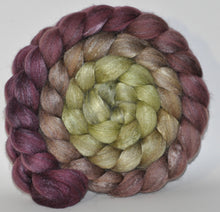 Polwarth/Tussah Silk 60/40 Combed Top  5.18 ounce Toad Hall   Roving