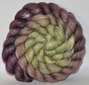 Polwarth/Tussah Silk 60/40 Combed Top  5.29 ounce Toad Hall   Roving