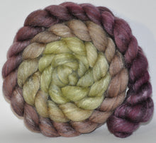Polwarth/Tussah Silk 60/40 Combed Top  5.33 ounce Toad Hall   Roving