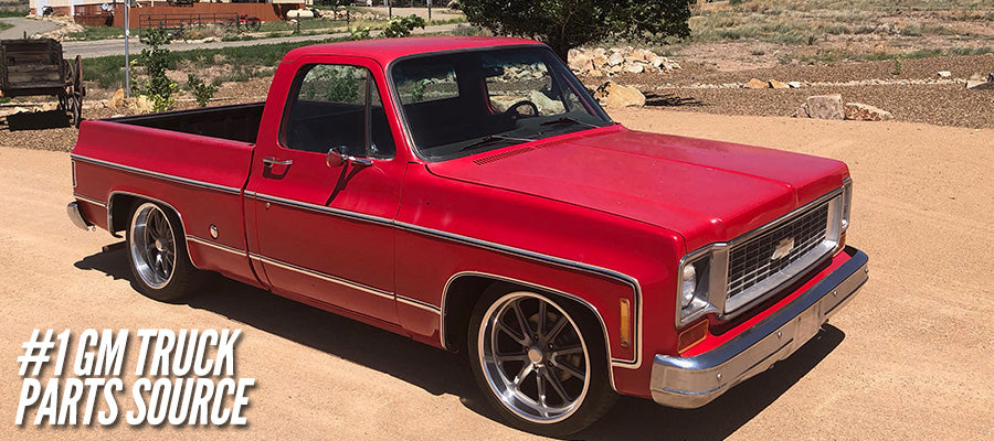 C10 Truck & Pro Touring Muscle Car Custom Wheels