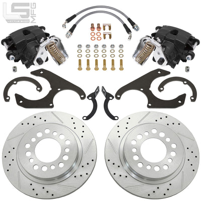 Little Shop Mfg. Rear Disc Kit - 64-87 C10 (5-Lug)