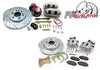 "Pro Performance 14""/13"" F/R Big Brake Kit - C5 Caliper - 63-87 C10"