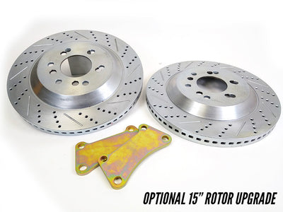 "Pro Performance 14""/13"" F/R Big Brake Kit - 88-98 GM Truck / SUV"
