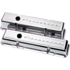 Billet Specialties Script Valve Covers - Chevy Small Block