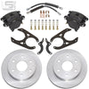 "Little Shop Mfg. Rear Disc Kit (For 11"" Drum) - 88-98 GM Truck / SUV (6-Lug)"