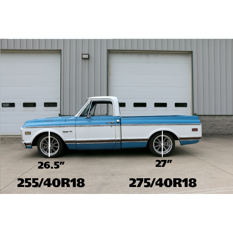 """For Chevy C10 Pickup 1963-1972 Belltech 5/"""" Rear Lowering Coil Springs"""
