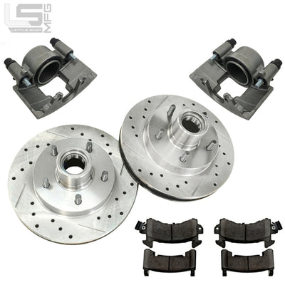 Little Shop Mfg. Front Upgrade Kit (5-Lug) - 88-98 GM Truck / SUV