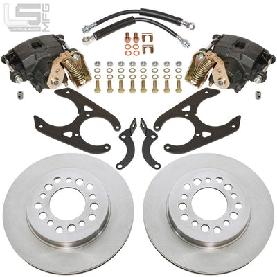"Little Shop Mfg. Rear Disc Kit (For 10"" Drum) - 88-98 GM Truck / SUV"