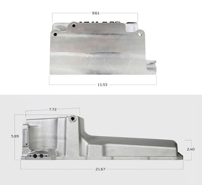 Holley GM LS Retro Fit Oil Pan - 302-1