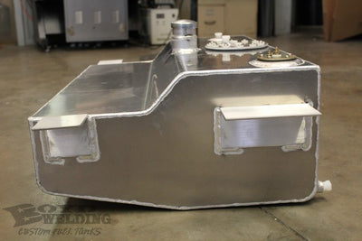 Boyd Aluminum Fuel Tank (Carb/Bed Fill) - 55-59 GM Truck
