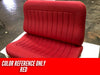 Snowden Seats - Straight Bench Seat - Upholstered
