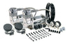 VIAIR 400C Chrome Dual Kit
